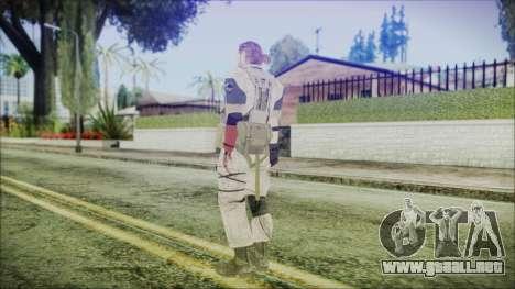 MGSV Phantom Pain Snake Normal Desert para GTA San Andreas tercera pantalla