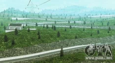 Stelvio Pass Drift Track para GTA San Andreas tercera pantalla