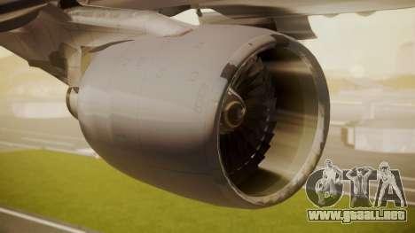 Airbus A330-300 American Airlines para la visión correcta GTA San Andreas