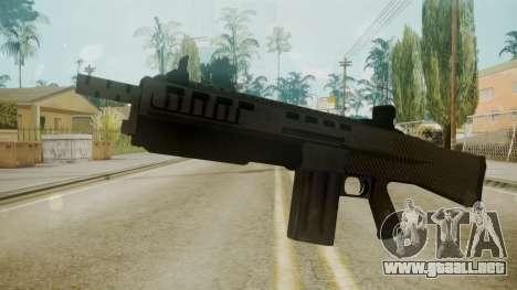 GTA 5 Combat Shotgun para GTA San Andreas segunda pantalla