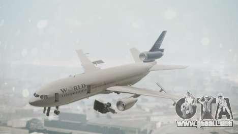 DC-10-30 World Airways (Blue Tail) para GTA San Andreas