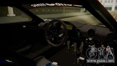 McLaren F1 GTR 1998 Lemans McLaren para la visión correcta GTA San Andreas