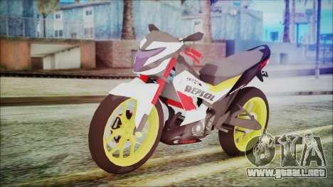 Honda Sonic 150R AntiCacing para GTA San Andreas