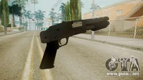 GTA 5 Sawnoff Shotgun para GTA San Andreas tercera pantalla