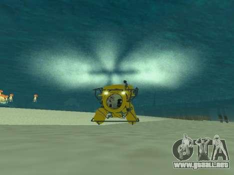 Sumergible de GTA V para GTA San Andreas left