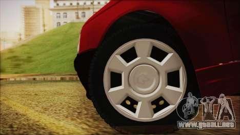 Ikco Arisun para GTA San Andreas vista posterior izquierda