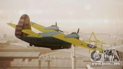 Grumman G-21 Goose N130FB para GTA San Andreas left