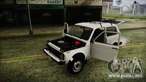 VAZ 2121 Niva 1600 FIV APT para GTA San Andreas interior