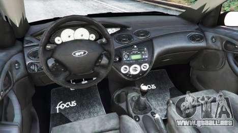 Ford Focus SVT Mk1 para GTA 5