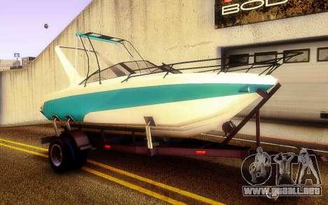 GTA V Boat Trailer para la visión correcta GTA San Andreas