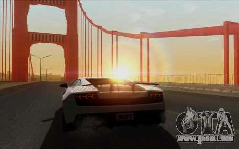 Amazing Graphics para GTA San Andreas octavo de pantalla