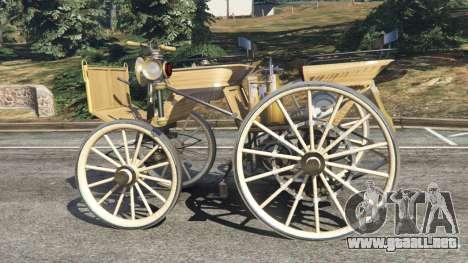 GTA 5 Daimler 1886 [wood] vista lateral izquierda