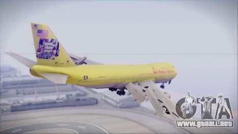 Boeing 747-200 GTA SA Airline para GTA San Andreas left