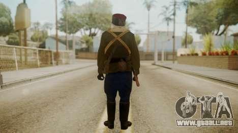 Red Army Cossack - WW2 para GTA San Andreas tercera pantalla