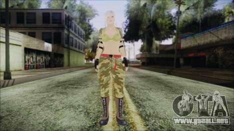 Home Girl Camo para GTA San Andreas segunda pantalla