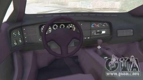 GTA 5 Jaguar XJ220 v1.0 vista lateral derecha