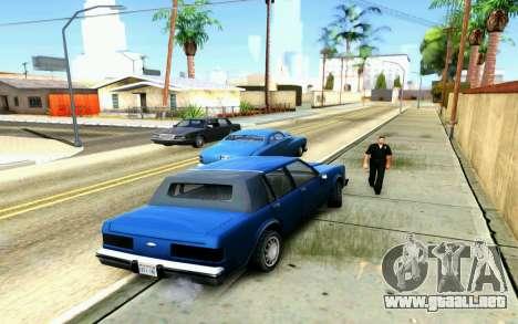 ENB for Medium PC para GTA San Andreas quinta pantalla