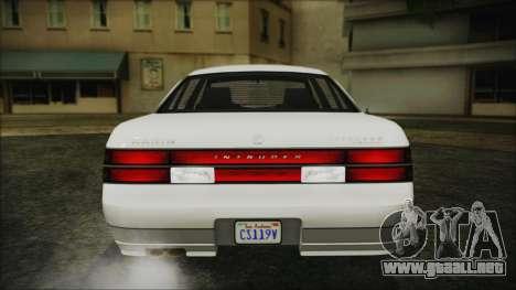 GTA 5 Karin Intruder IVF para visión interna GTA San Andreas