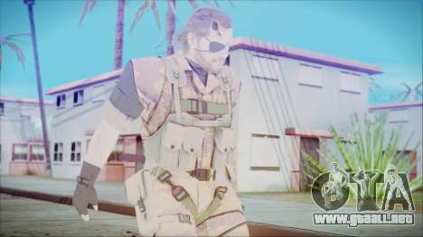 MGSV Phantom Pain Snake Normal Golden Tiger para GTA San Andreas