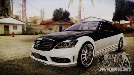 Carlsson Aigner CK65 RS v2 Headlights para GTA San Andreas