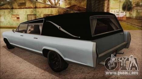 GTA 5 Albany Lurcher Bobble Version para GTA San Andreas left