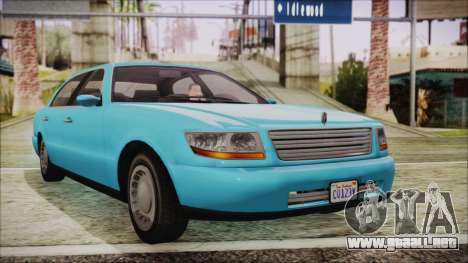 GTA 5 Albany Washington para GTA San Andreas