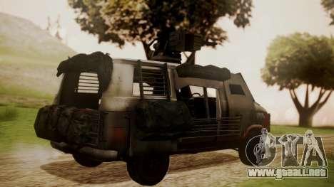 BF3 Rhino para GTA San Andreas left