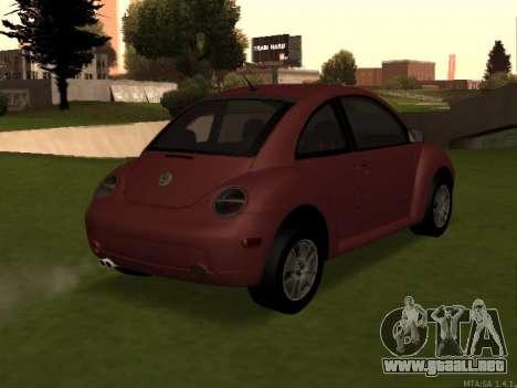 VW New Beetle 2004 Tunable para GTA San Andreas left