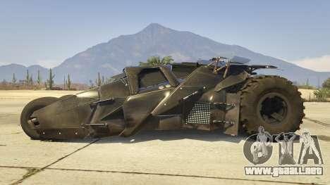 The Tumbler para GTA 5