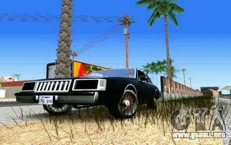 ENB for Medium PC para GTA San Andreas twelth pantalla