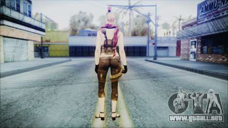 Mila Short Hair from Counter Strike para GTA San Andreas tercera pantalla