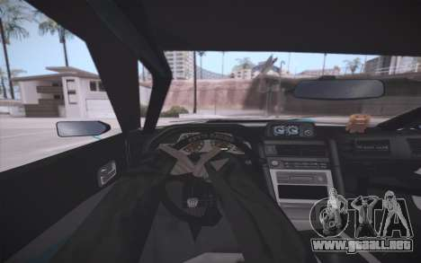 Elegy DRIFT KING GT-1 (Stok wheels) para vista inferior GTA San Andreas
