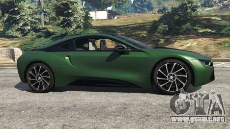 GTA 5 BMW i8 2015 vista lateral izquierda