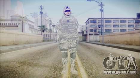 CODE5 USA para GTA San Andreas segunda pantalla