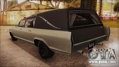 GTA 5 Albany Lurcher Bobble Version IVF para GTA San Andreas left