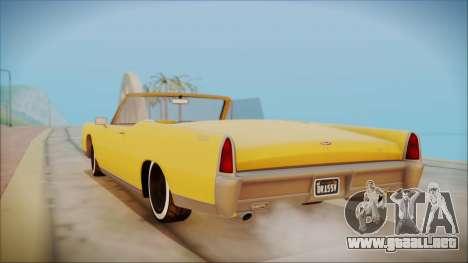 GTA 5 Vapid Chino Bobble Version para GTA San Andreas left