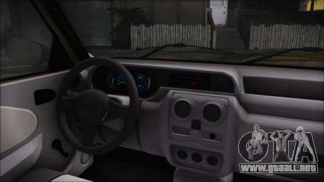 Dacia Solenza para la visión correcta GTA San Andreas
