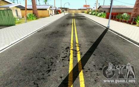 ENB for Medium PC para GTA San Andreas sucesivamente de pantalla