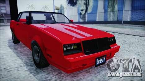 GTA 5 Willard Faction IVF para GTA San Andreas