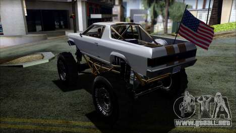 GTA 5 Cheval Marshall para GTA San Andreas left
