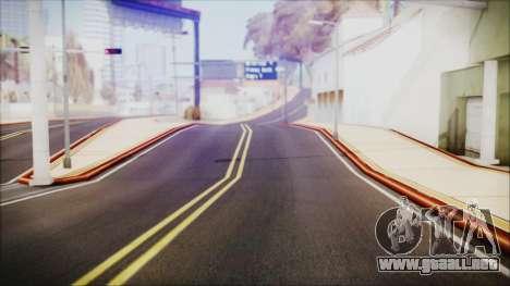 HD All City Roads para GTA San Andreas segunda pantalla