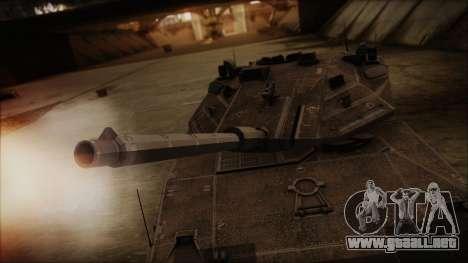 M2A1 Slammer Tank para la visión correcta GTA San Andreas