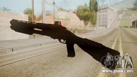 CQC-11 Combat Shotgun para GTA San Andreas segunda pantalla