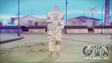 MGSV Phantom Pain Snake Normal Golden Tiger para GTA San Andreas tercera pantalla