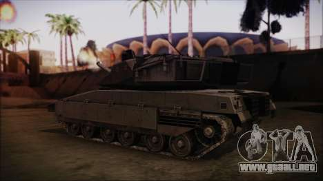 M2A1 Slammer Tank para GTA San Andreas left