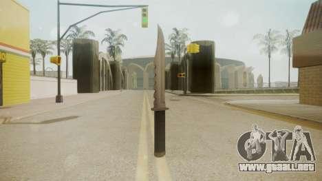 GTA 5 Knife para GTA San Andreas segunda pantalla