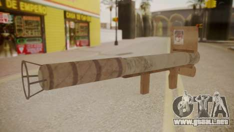 GTA 5 Stinger para GTA San Andreas segunda pantalla