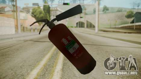 GTA 5 Fire Extinguisher para GTA San Andreas tercera pantalla