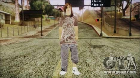 Home Girl Chola 3 para GTA San Andreas segunda pantalla