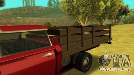 Voodoo El Camino v2 (Truck) para vista lateral GTA San Andreas